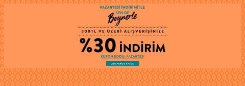 Boyner %30 İndirim Kodu
