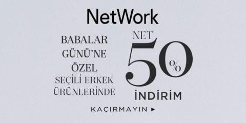 NetWork Babalar Günü %50