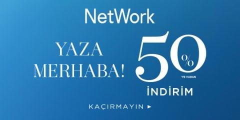 NetWork %50 İndirim