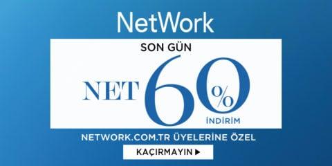 NetWork %60 İndirim