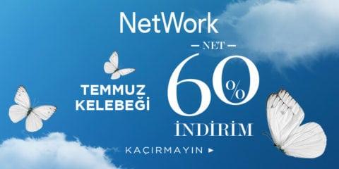 NetWork %60 Kelebek İndirimi