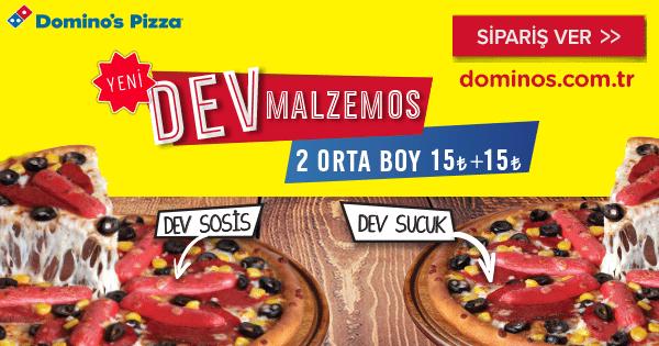 Domino's Dev Malzemos