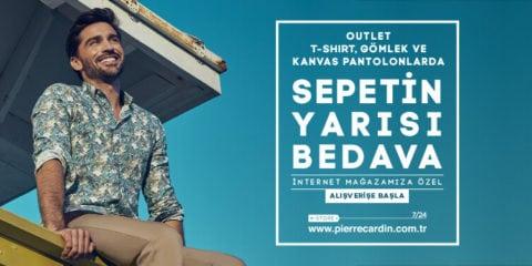 Pierre Cardin Outlet Gömlek T Shirt Sepetin Yarısı