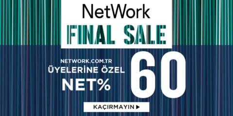 NetWork Final Sale %60 + 2. Ürüne %20 İndirim Kodu