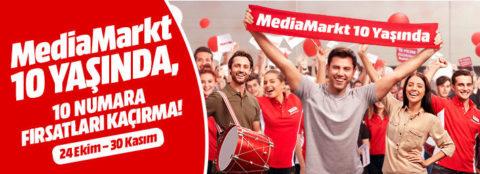 Media Markt Her 200₺ Alışverişe 100₺ Hediye Çeki