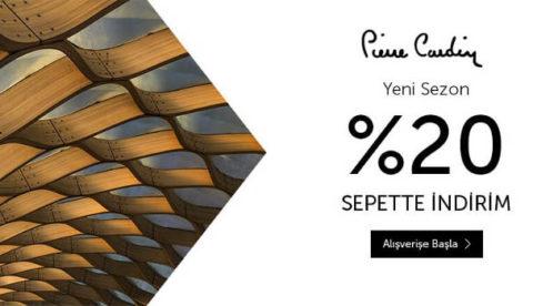 n11.com Pierre Cardin Ürünlerinde Sepette %20 İndirim