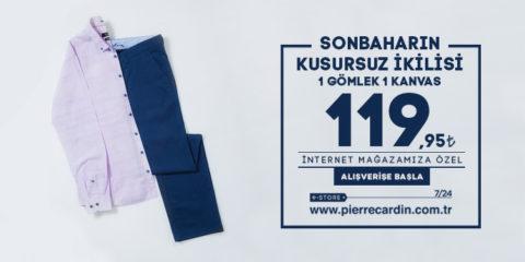 Pierre Cardin 1 Gömlek 1 Kanvas 119.95₺
