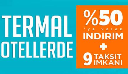 Tatilbudur.com Termal Otellerde %50'ye Varan İndirim