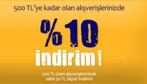 D&R %10 İndirim
