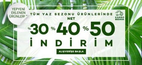 Pierre Cardin Yaz Sezonu Ürünlerinde %30-40-50 İndirim!