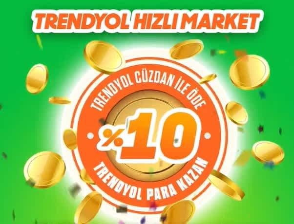 Trendyol Hızlı Market %10 geri kazan - kuponla.com